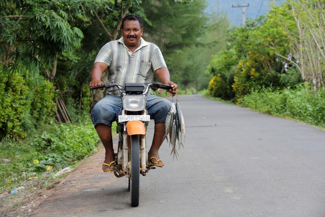 Hasyimi, survivant du tsunami de 2004, Indonésie