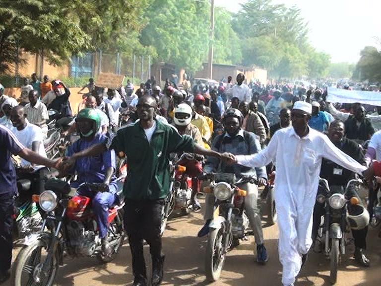 Manifestation au Niger pour la renégociation des contrats d'Areva