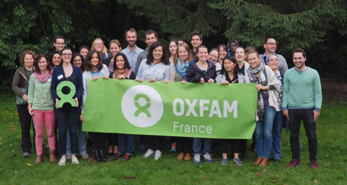 L'équipe des salariés d'Oxfam France en octobre 2017