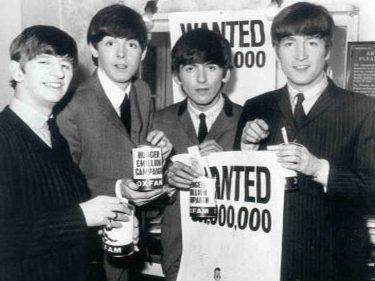 Collecte des Beatles pour Oxfam en 1963